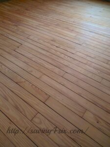 Refinishing Our 100 Year Old Floors