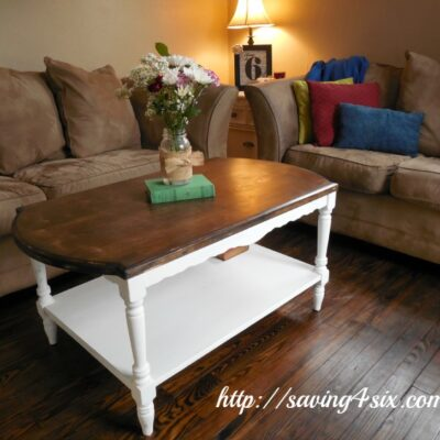 Curbside Coffee Table Makeover