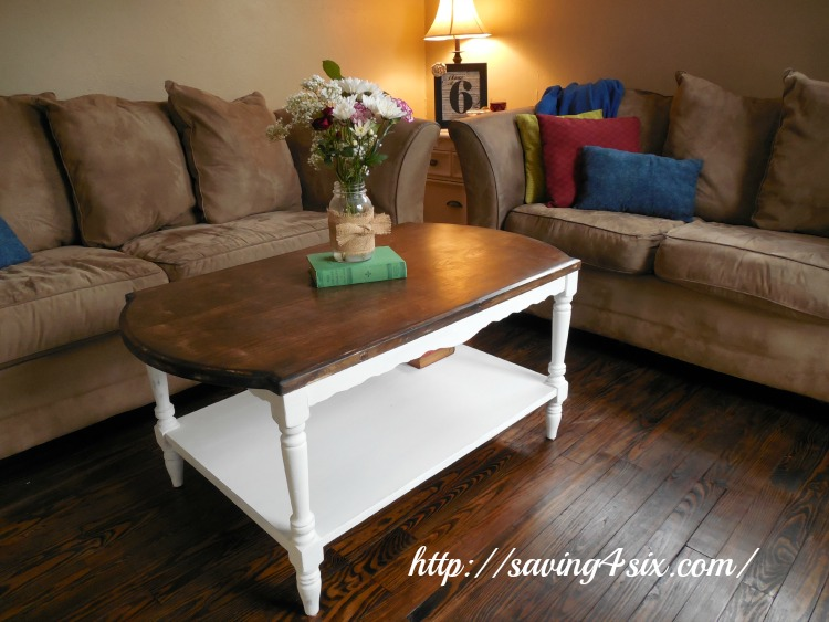 Coffee Table Makeover 7