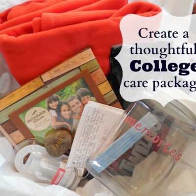 Create A College Care Package