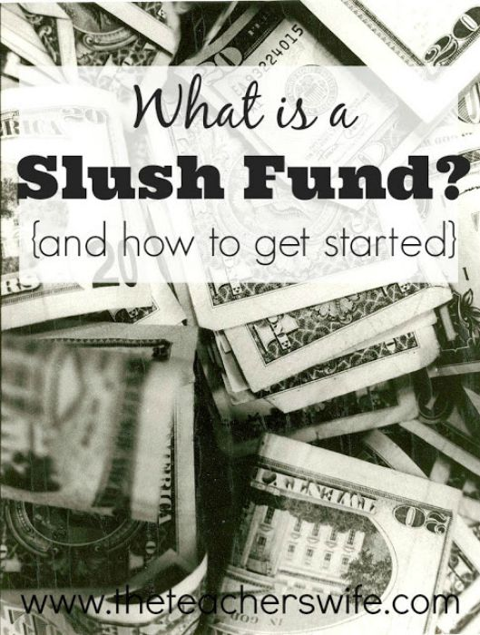 What is a slush fund