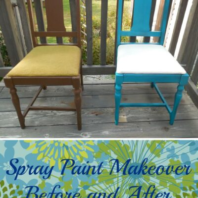 Spray Paint Makeover