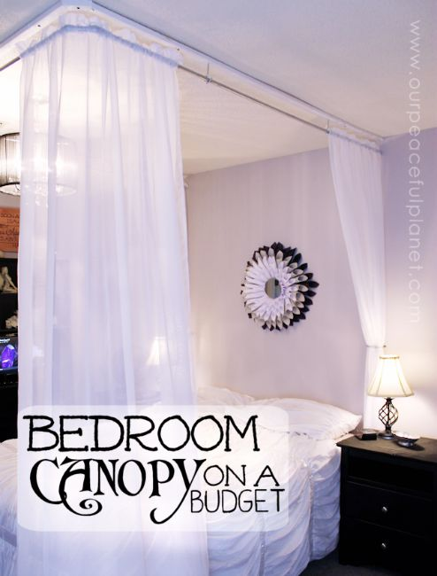 Canopy-Bed-Curtains-on-a-Budget