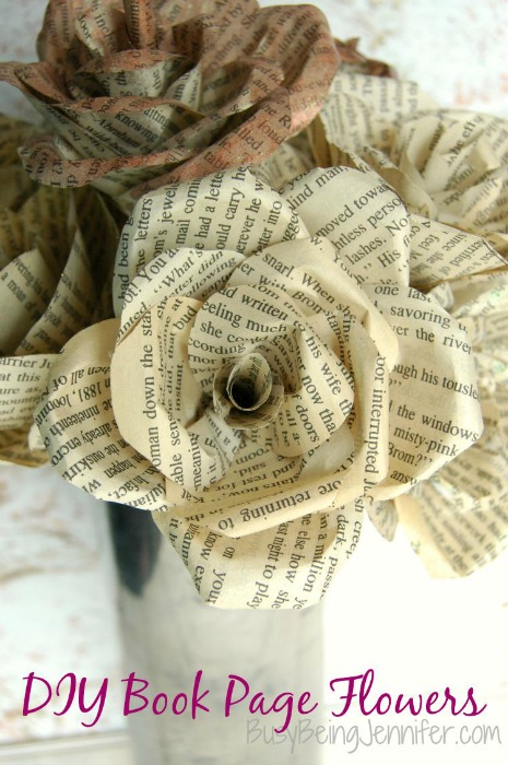 DIY-Book-Page-Flowers-BusyBeingJennifer.com_