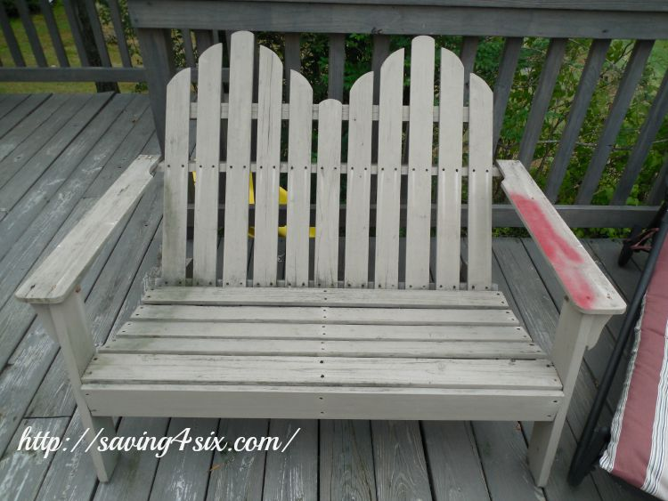 Deck Chair Makeover