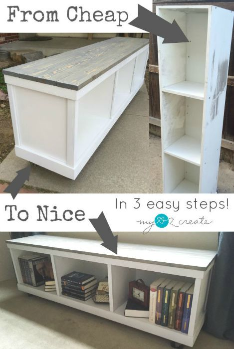 From Cheap to Nice Storage Bench, MyLove2Create