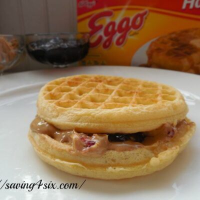 Easy and Delicious Waffle Sandwich