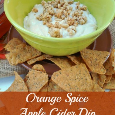 Orange Spice Apple Cider Dip