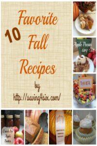 10 Favorite Fall Recipes