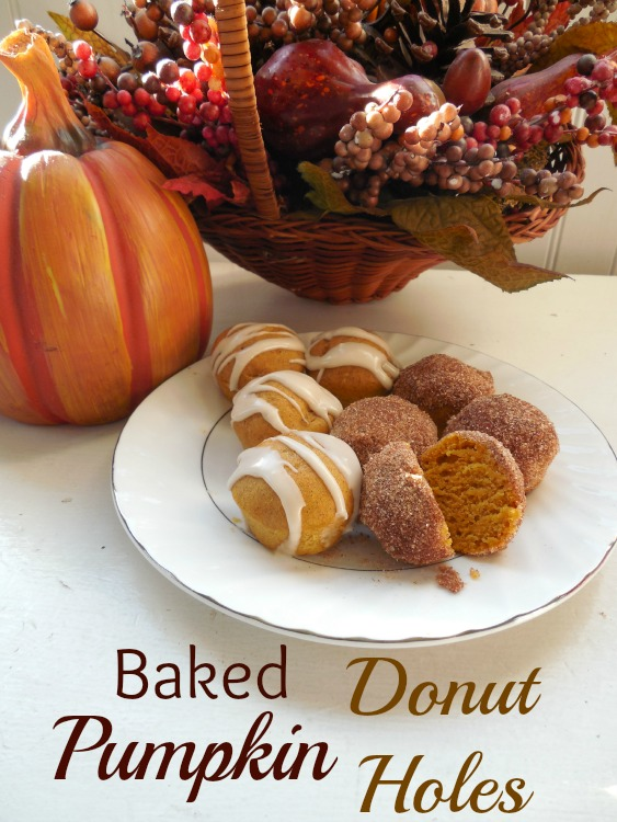 Pumpkin Donut Holes Hero
