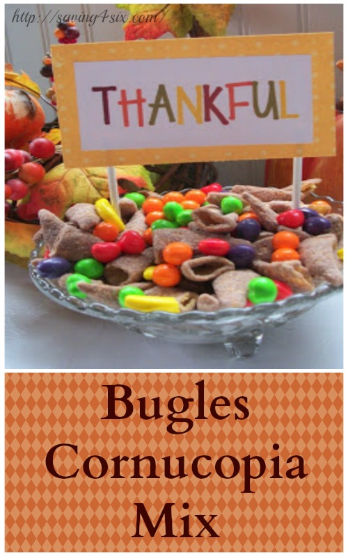 Bugles Cornucopia mix