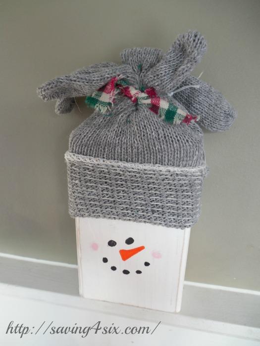 2x4 Simple Snowman 1