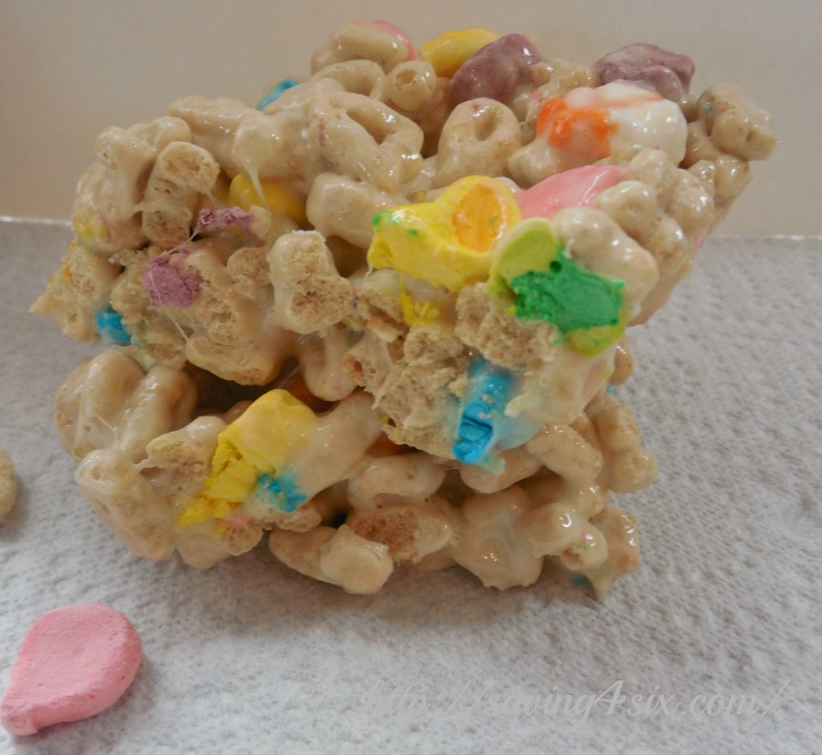 Lucky Charms Marshmallow Treat 3