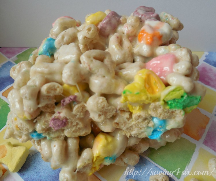 Lucky Charms Marshmallow Treats 2
