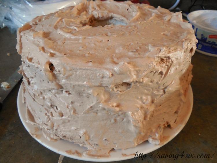 Butterfinger cake 3