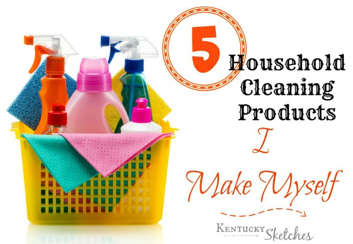 Blog5HouseholdCleaningProducts
