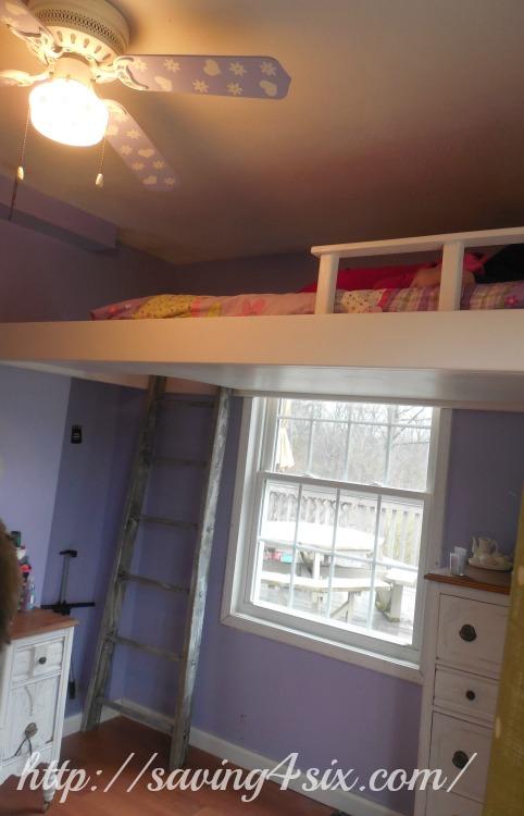 DIY Loft Bed 10