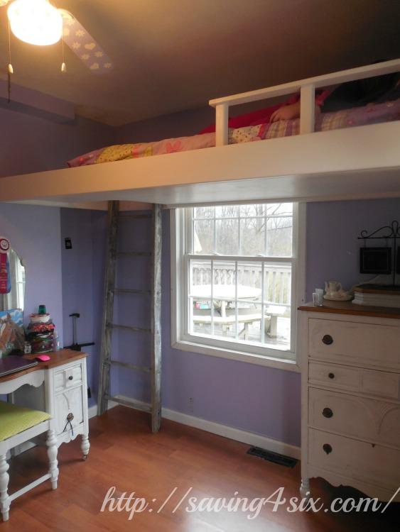 DIY Loft Bed 11