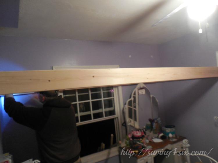 DIY Loft Bed 3