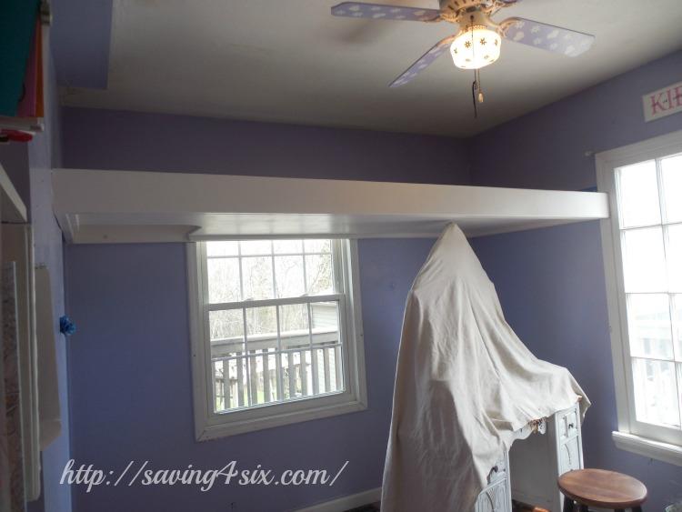 DIY Loft Bed 8