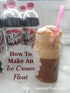 How To Make An Ice Cream Float