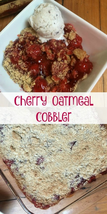 Cherry-Oatmeal-Cobbler-is-the-perfect-sweet-and-tart-treat