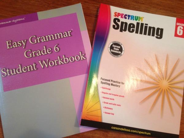 6th grade curriculum 7