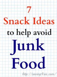 7 Snacks to Help Avoid Junk Food