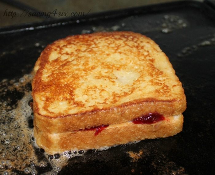 PB&J Stuffed French Toast 8