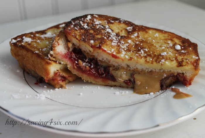 PB&J Stuffed French Toast 9