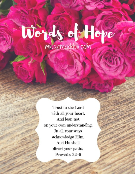 words-of-hope