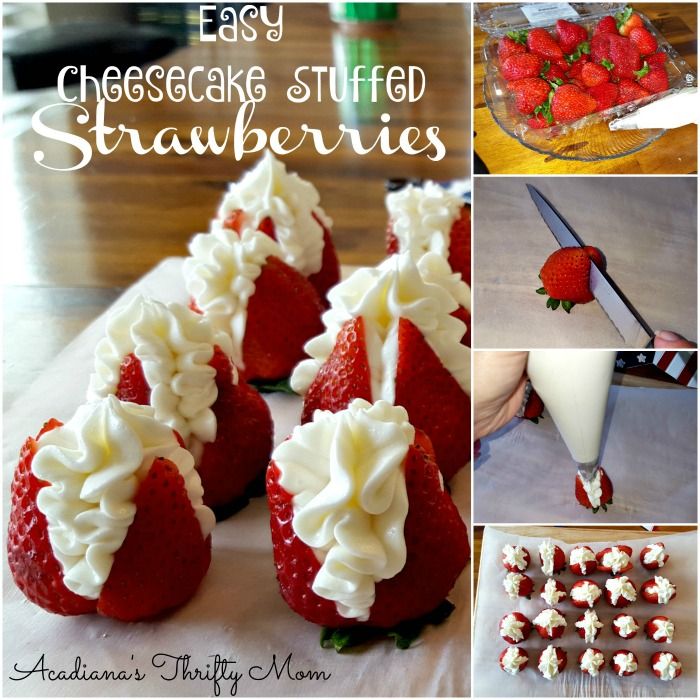 cheesecake-stuffed-strawberries-collage