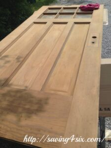 My New Craftsman Front Door – Part 2