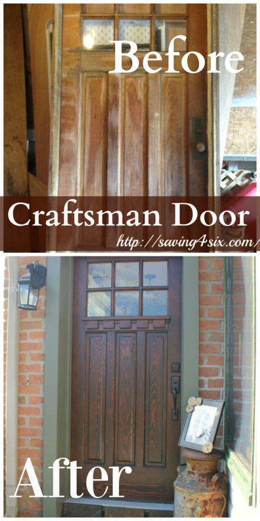 Craftsman door hero