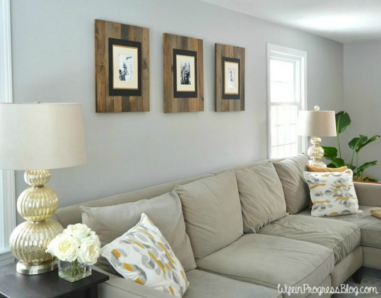 diy-rustic-weathered-pallet-frame-1