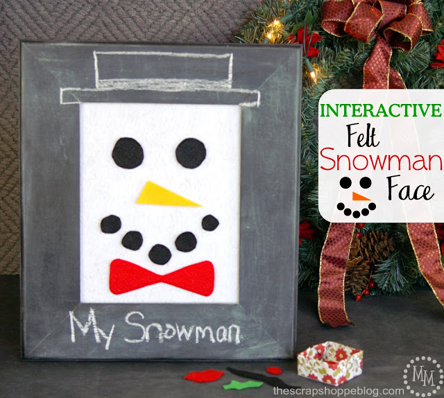 interactive-felt-snowman