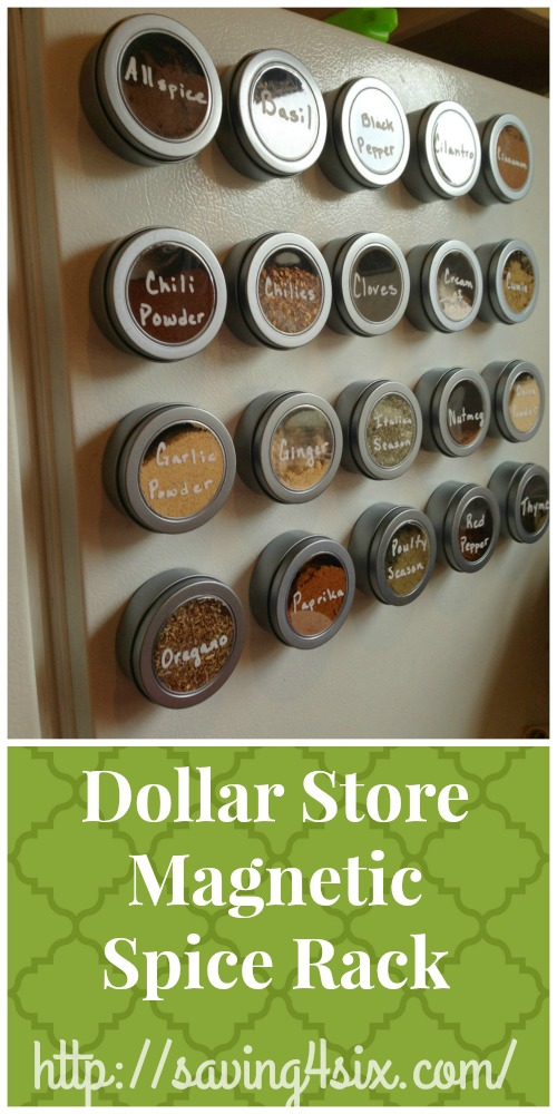 Dollar Store Spice Rack Hero