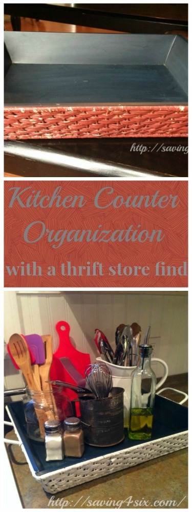 Kitchen Counter Organization Hero