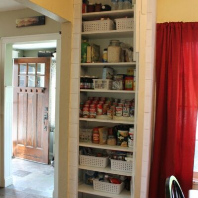 Kitchen Makeover – Part Two – The Pantry Reveal